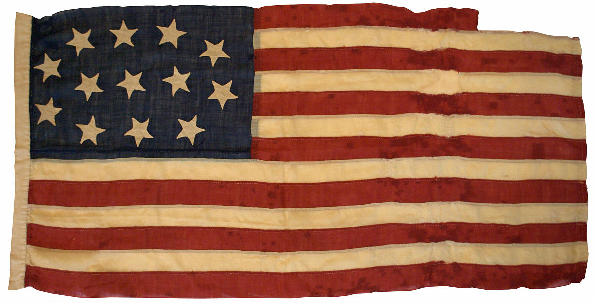Wool 13 Star Flag