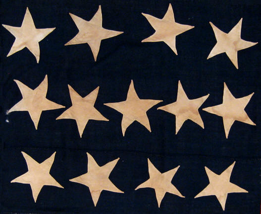 Rare flags antique american flags historic american flags 4 5 4 pattern the 4 5 4 pattern like the 3 2 3 2 3 pattern is known to have been produced in the 18th century although not as common as the 3 2 3 2 3 publicscrutiny Choice Image