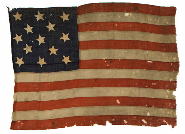 Antique 13 Star Flag