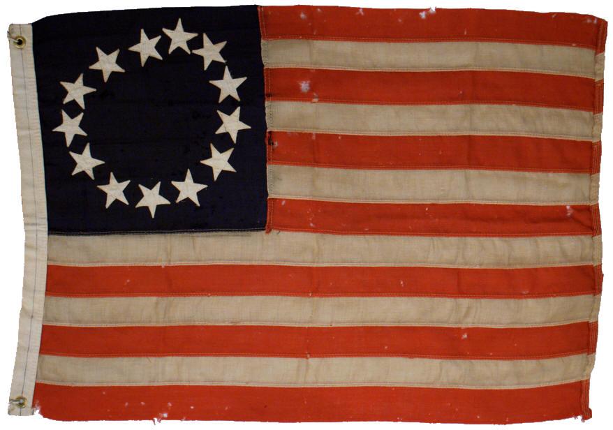 Rare Flags Antique American