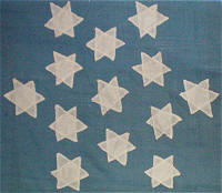 Rare flags antique american flags historic american flags the practice of arranging 13 stars into a six pointed great star pattern in american heraldry dates at least as early as 1782 the first american treaty die publicscrutiny Choice Image