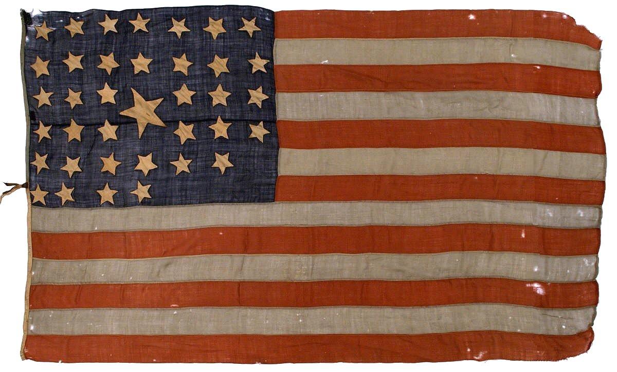 Post War Era America a Post Civil War Era Flag