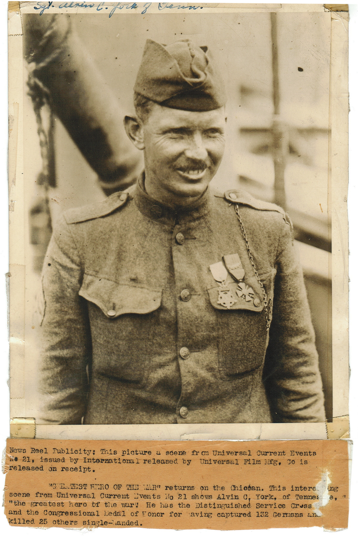 alvin york Learn all about sergeant alvin york, the man who single-handedly captured over a hundred german soldiers during world war i when you've finished.