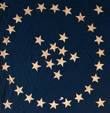 d3dc4f4f096 An extremely rare pattern for a sewn flag